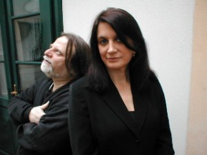 Richie Beirach & Laurie Antonioli. Photo by Linda Gallagher
