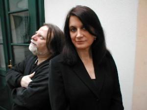 Richie Beirach & Laurie Antonioli. Photo by Linda Gallagher